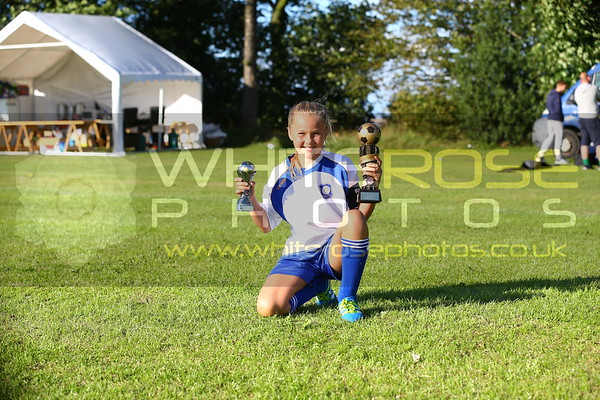 Individual Girl with trophy