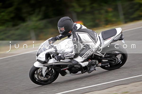 Honda - White 600RR 2