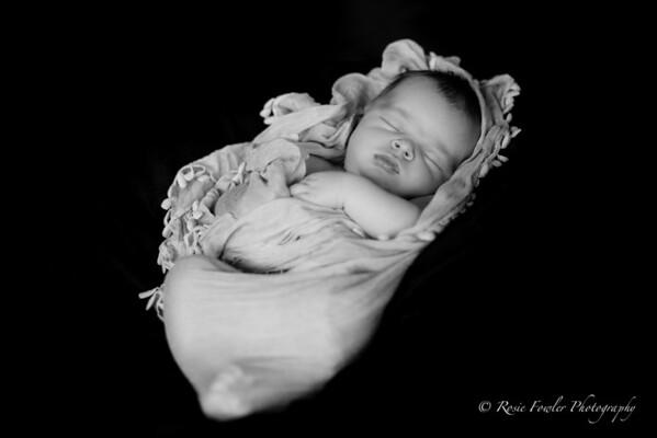 Isaiah's Newborn Portraits