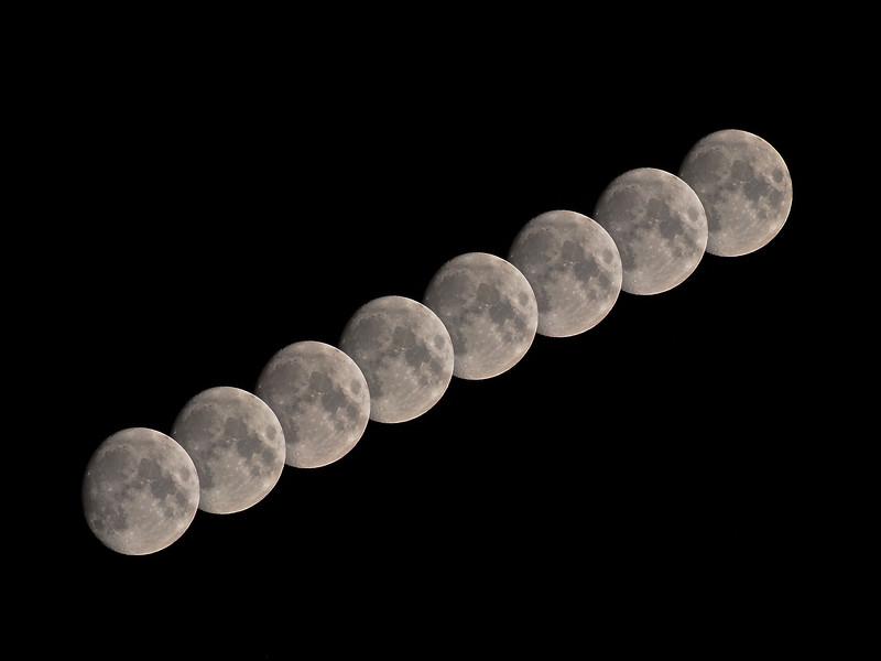 Kissing Moon