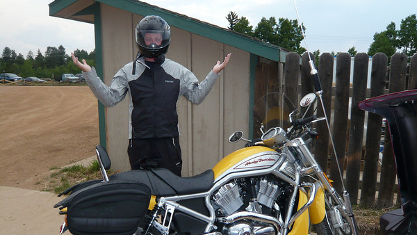 Motorcycle to Golden Bell w Mat