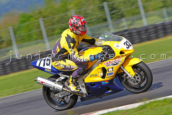 #32 - Yellow & Purple Suzuki