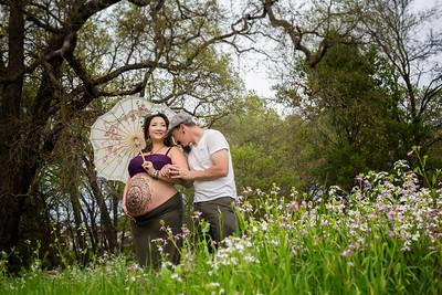 Jessica and Matt Maternity Portraits