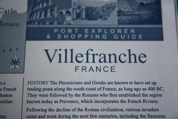 Mediterranean Cruise -- Villefranche