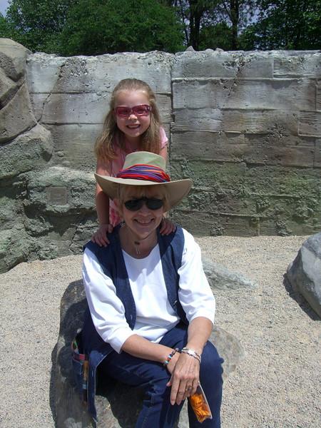 Zoo trip with Grandmama Carol, Papa Ben, Whitney, Kimber and I (June '09).