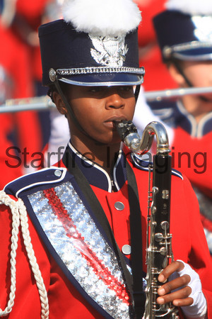 Riverside King HS @ AFOB2009 Band Review