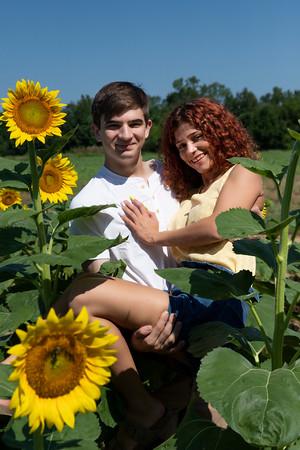 Wayne & Nikki Sunflower Field