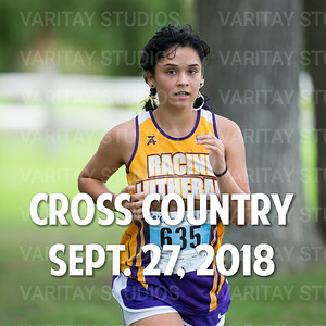 Lutheran Cross Country 9-27-2018