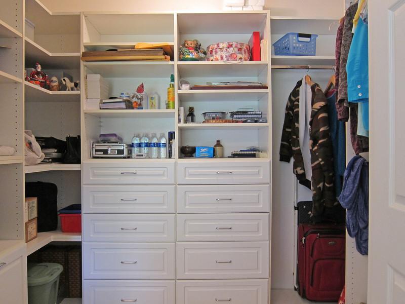 California Closets...closet organizer.