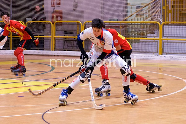 Correggio Hockey vs Amatori Wasken Lodi