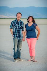 Nikki and Richard Antelope Island