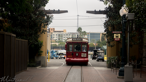 Disneyland Resort, Disney California Adventure, Hollywood Land, Red Car Trolley, Red Car, Red, Car, Trolley