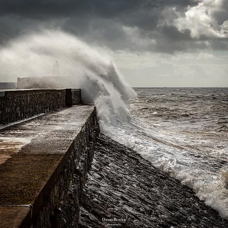 A breezy day in Porthcawl & Nash Point