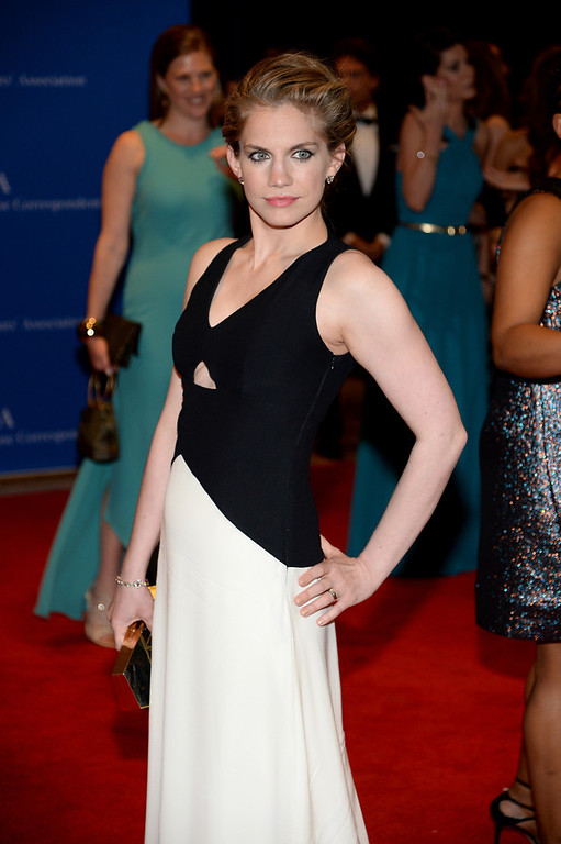 . Actress Anna Chlumsky attends the 100th Annual White House Correspondents\' Association Dinner at the Washington Hilton on May 3, 2014 in Washington, DC.  (Photo by Dimitrios Kambouris/Getty Images)