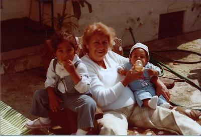 1983 David 6 mo Timna 2 yrs