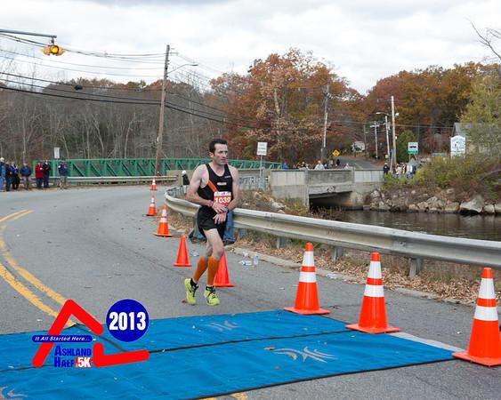 Ashland Half Marathon 2013 - Half Finish
