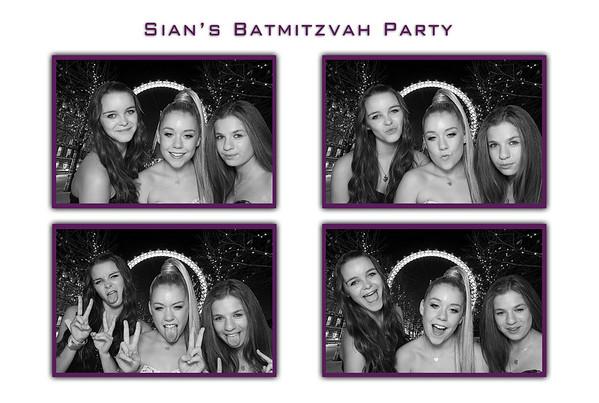 Sian's Batmitzvah
