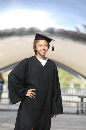Brooklyn's Graduation Shoot