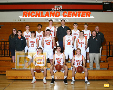 Richland Center boys basketball BBB1920