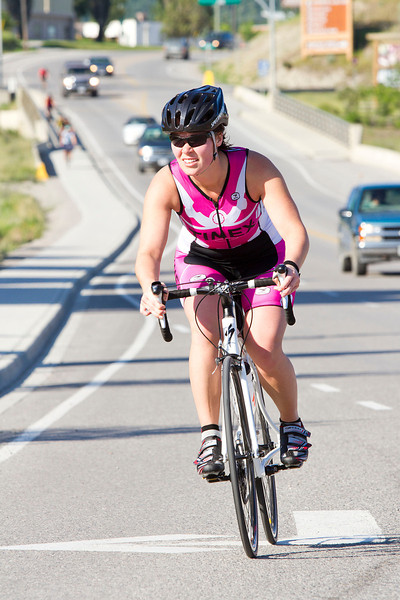 Triathlon - Heart of the Rockies - Olympic & Sprint - Invermere, July 2011