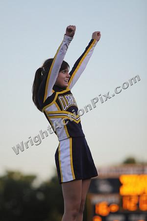 2009 09 02 JV Cheer at Troy Athens