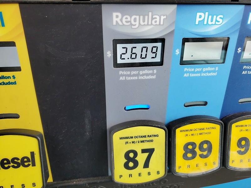Over a dollar cheaper than I paid when I left Tacoma