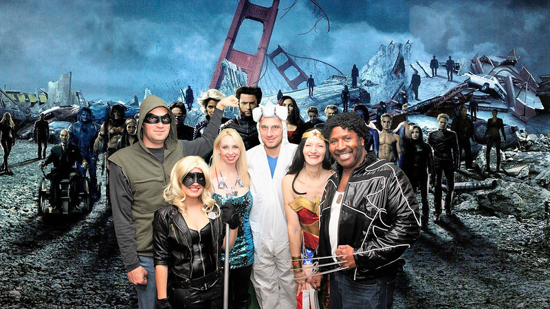 Green Arrow, Black Canary, Walter White (Heisenberg) his Meth,Wonder Woman and Wolverine and The X-Men
