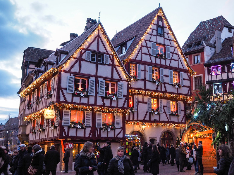 Colmar, France at Christmas