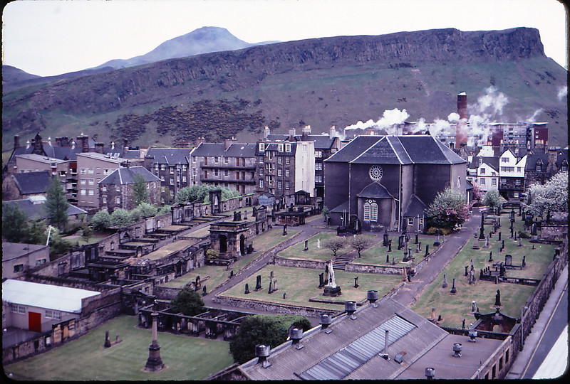 Alisbury Crags, Edinburgh, Scotland, 1984