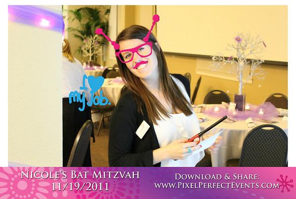 2011-11-19 Nicole's Bat Mitzvah