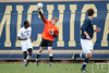 Nov 13, 2011; Ann Arbor, MI, USA; Penn State Nittany Lions goalkeeper Andrew Wolverton (1) throws the ball up field in the second half against the Northwestern Wildcatsat at the final game of the 2011 Big Ten Championship at Michigan Soccer Stadium. Wildcats won 2-1. Mandatory Credit: Tim Fuller-US PRESSWIRE