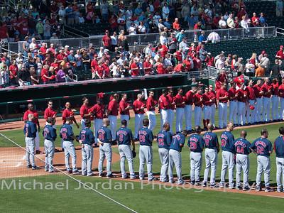 Cleveland Indians v. Cincinnati Reds
