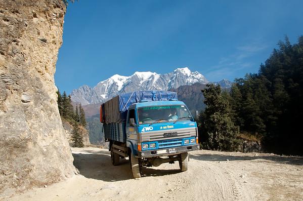 TRUCKING IN NEPAL