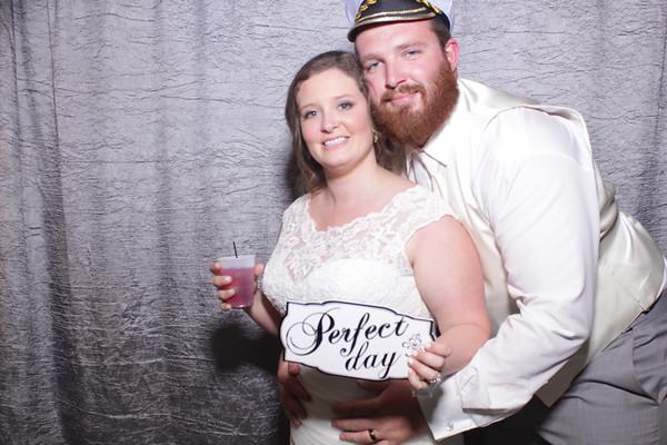Katie and Jarrett's Wedding Mirror Booth