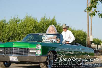 The Bride's Ride to the Ceremony