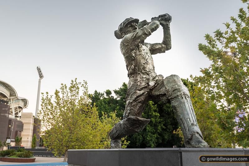 Donald Bradman Statue