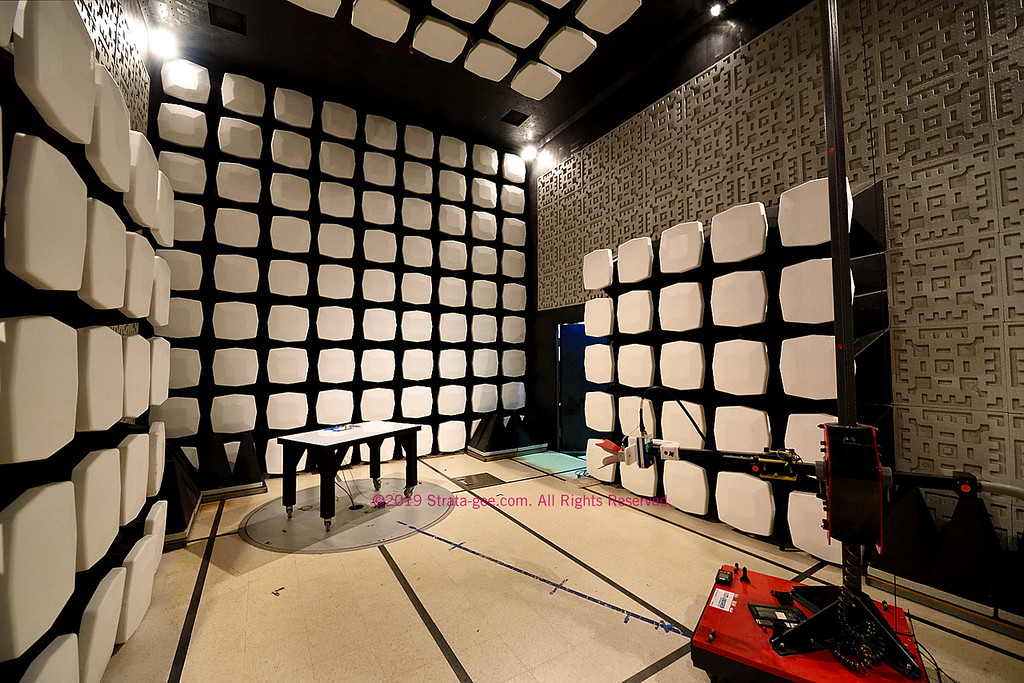 Creston has a large RF testing chamber in-house