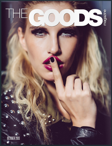 Publication:  Allison Andrews, The G.O.O.D.S. Magazine (2013)