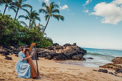 Ginny Morgan - Maui Wedding Harp