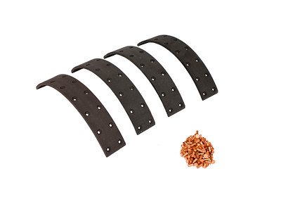 DEUTZ 05 06 SERIES BRAKE LINING KIT 326MM LONG