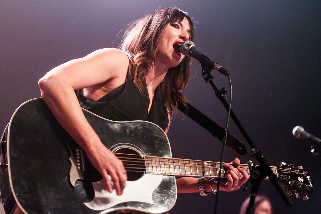 . KT Tunstall performs at Fleetwood Mac Fest at The Fonda on Tuesday, Feb. 9, 2016, in Los Angeles. Tunstall performs July 15 at Jacobs Pavilion at Nautica. For more information, visit nauticaflats.com.   (Photo by Rich Fury/Invision/AP)
