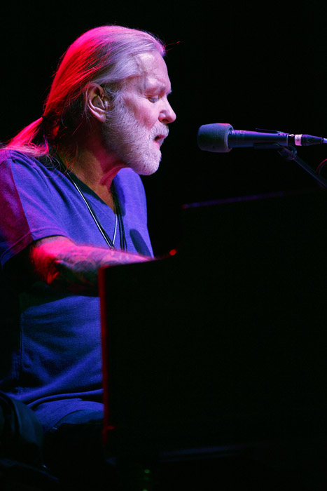 Description of . Gregg Allman performs at Sound Board in the MotorCity Casino, Detroit. Photo by Ken Settle