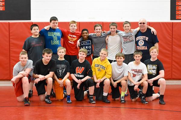 Ridge & Plains Boys Wrestling (7th & 8th)