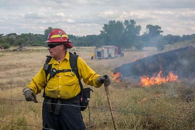 Old Banbury Brush Fire