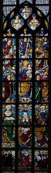 Rouen, Jeanne d'Arc Church - The Tree of Saint Anne
