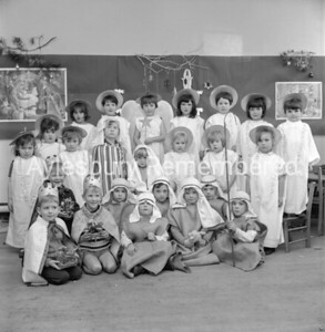 Nativity at Southcourt Infants School, Dec 7th 1966
