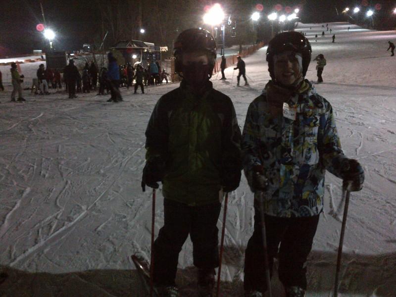 Gavin & Thomas Check Out The Slopes