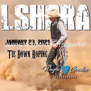 LSHSRA Tie Down Roping Jan 23 2021