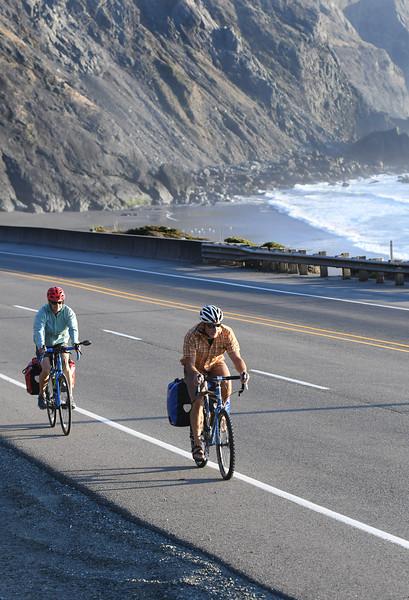 Cycling Oregon Coast