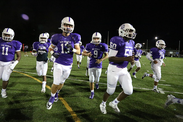 New Rochelle Football 10/16/15